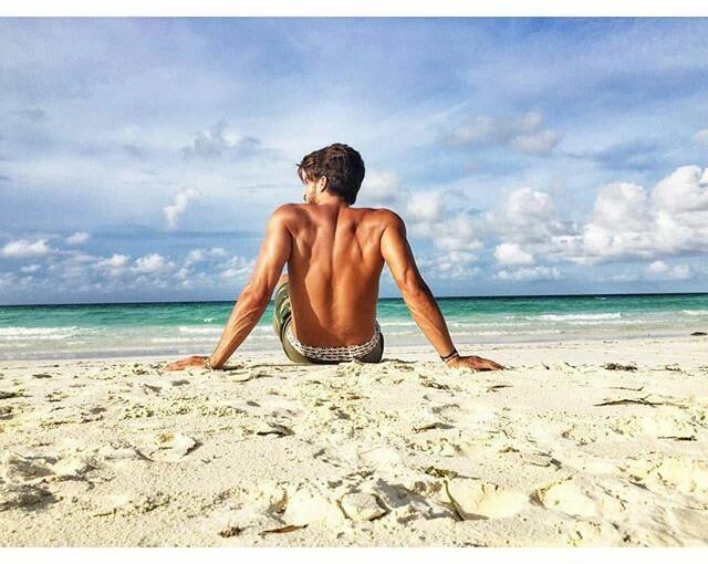 Ideas de fotos en la playa parahombres